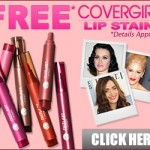 Get a Free Covergirl LipStain Sample