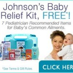 Get a free johnson's baby Relife kit