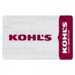 Get a free Kohl's gift card