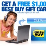 Get a free $1000 Bestbuy Gift card