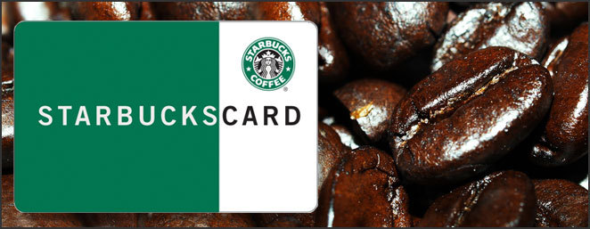 starbucks gift card Get a free starbuck gift card