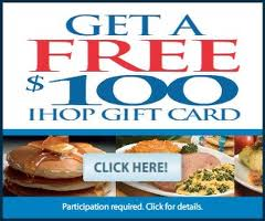 Get a Free $100 ihop gift card