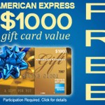 Get a Free American Express gift card