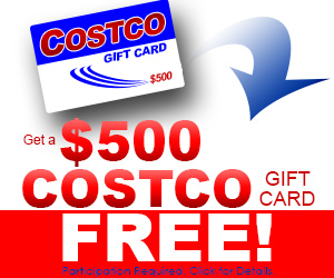 Get a Free $500 Costco gift card