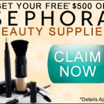 Get a Free $500 Sephora gift card