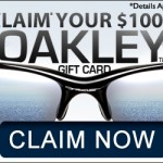 Get a free $1000 Oakley gift card