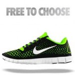 Get free a pair of nike shoe