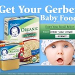 Get a Free gerber baby food product