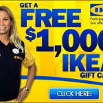 Get a free Ikea gift card