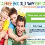 Get a Free $500 old navy gift card