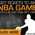 Get a Free $1000 NBA ticket