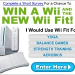 Win a free Nintendo Wii & Wii Fit