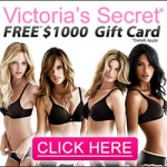 Get a free $1000 victoria's secret gift card