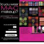 Get a free Mac cosmetic sample
