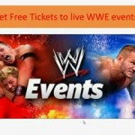 Free tickets for WWE wrestling event!