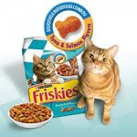 Get a free Friskies Cat Food Coupon