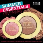 Win a free Milani Summer Essentials Pack