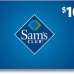 Get Free $10 Sam's Club Gift Card