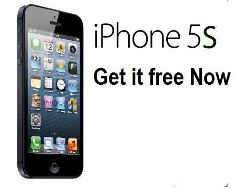 free iphone 5s giveaway