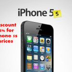 Get dicount price 75% for iphone 5s